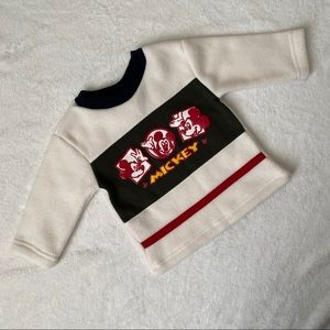 Mickey Mouse Disney sweater size 12 months